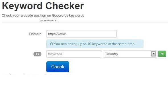 Check-keyword-position