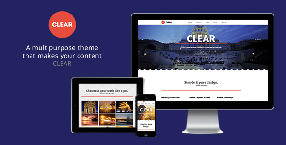 Clear-Multipurpose-Muse-Theme
