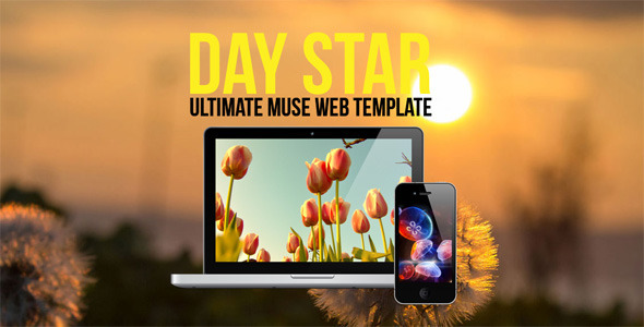 Day-Star-One-Page-Muse-Template