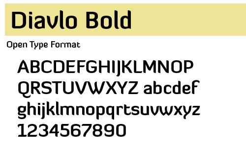 Diavlo-Bold