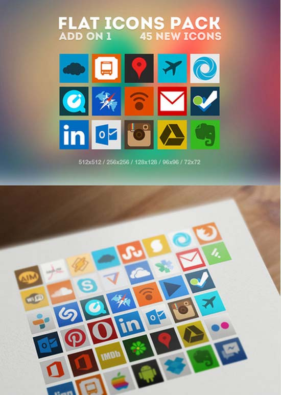 Flat-Icons-Pack-Add-on