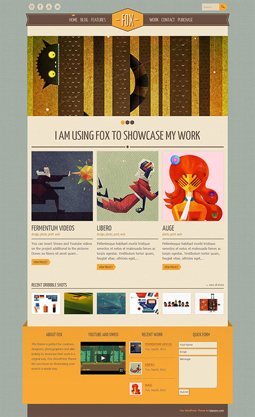 Fox-WordPress-Theme