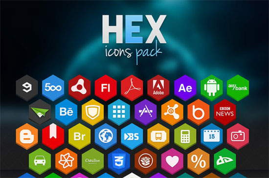 Hex-Icons-Pack