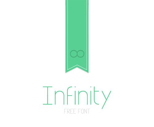 Infinity-font