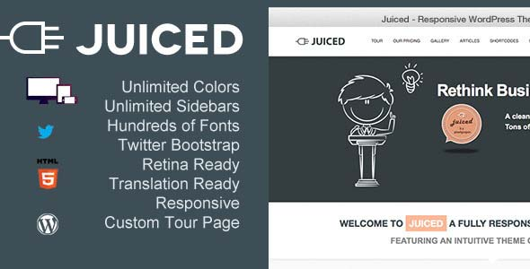 Juiced-Responsive-WordPress-Theme