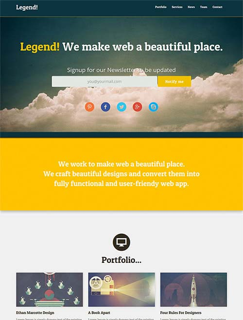 Legend-Free-Responsive-One-Page-Template-by-Akash-Bhadange
