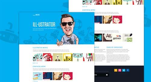 LineCase-Fresh-&-Bright-Website-PSD-by-blaz-robar