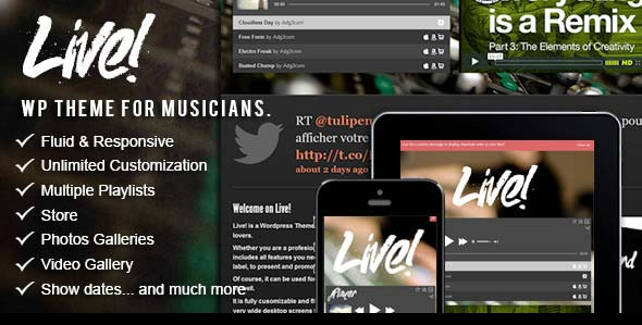 Live-Music-Wordpress-Theme
