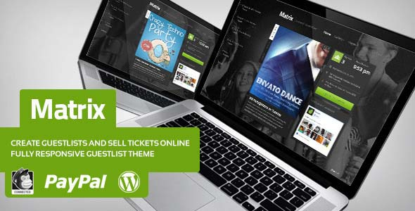 Matrix-Event-Guest-List-WordPress-Theme