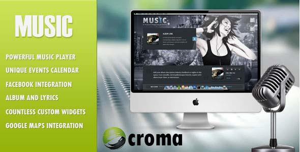 Music-Musicians-theme-&-Facebook-app