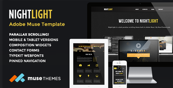 NightLight-Parallax-Muse-Template