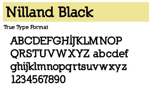 Nilland-Black