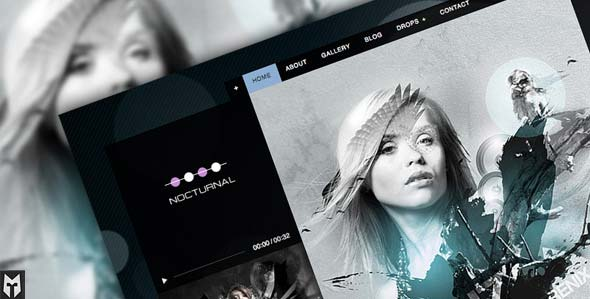 Nocturnal-Premier-Audio-WP-Theme