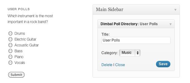 Poll-Directory-wordpress-plugin