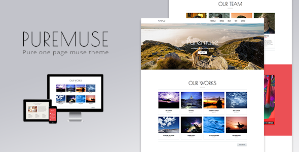 Puremuse-One-Page-Muse-Theme