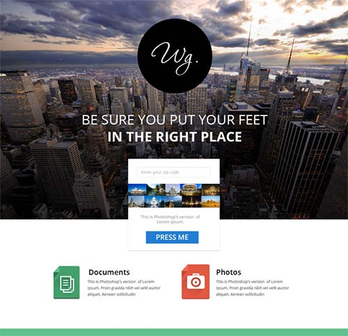Single-Page-Free-Website-Template-PSD-by-Krishnan-Unni