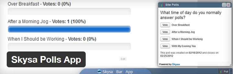 Skysa-Polls-App