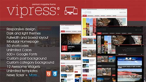 Vipress-Responsive-Blog-Magazine-&-Video-Theme