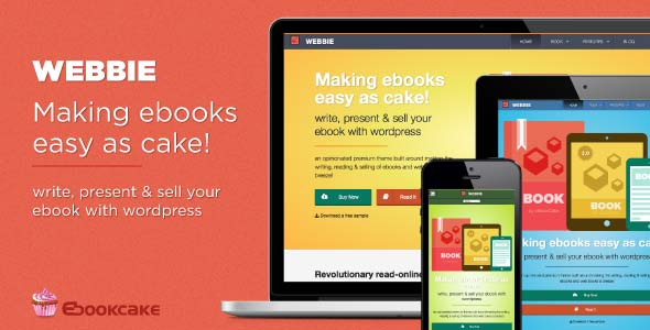Webbie-WordPress-theme-for-ebook-authors