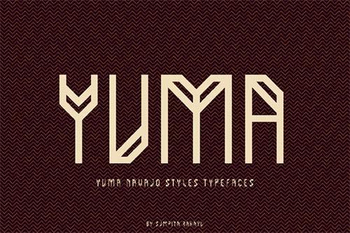 Yuma-typeface