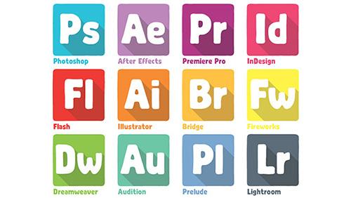 Adobe Dock Icons