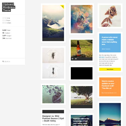 80 Best Personal Blogging Wordpress Themes Psdreview