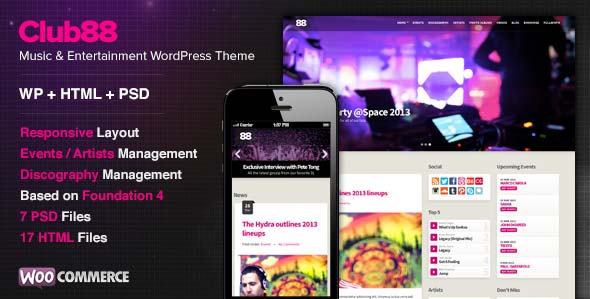 club88-premium-music-wordpress-theme