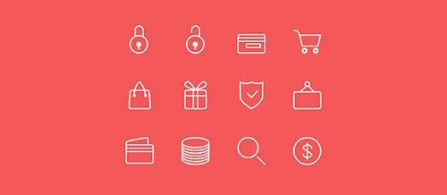 eCommerce Line Icons