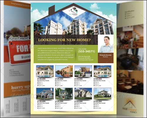 real estate flyers free