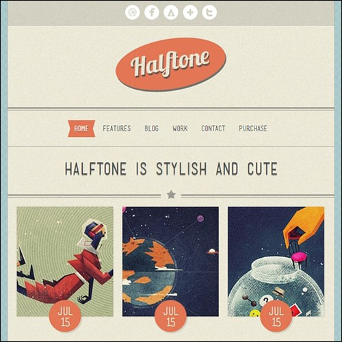 halftone-wordpress-tone