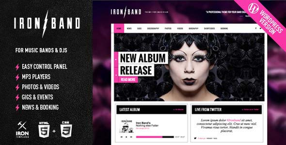 ironband-responsive-music-dj-wordpress-theme