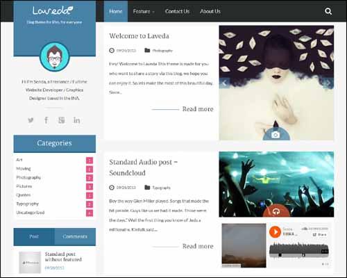 80+ Best Personal Blogging WordPress Themes | PSDreview