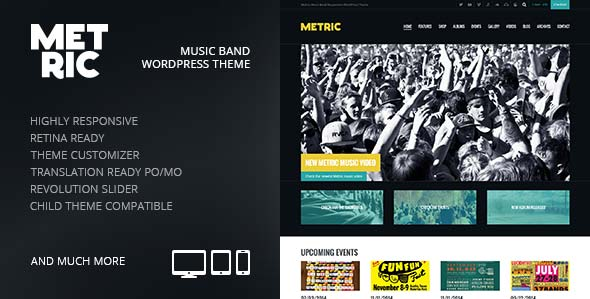 metric-music-band-responsive-wordpress-theme