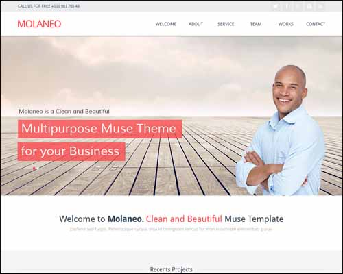 molaneo-one-page-parallax-muse-template