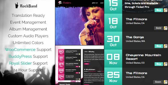 rock-band-awesome-music-template