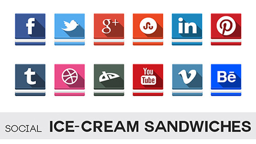 Social Ice-Cream Sandwiches