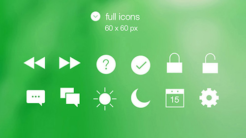 Tab Bar Icons iOS 7 Vol. 2