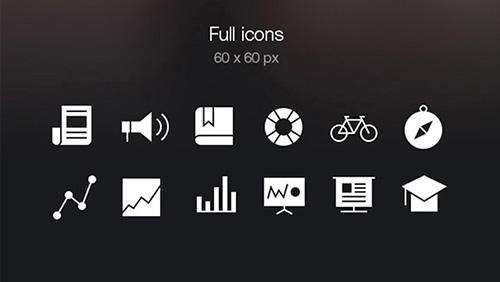 Tab Bar Icons iOS 7 Vol. 4
