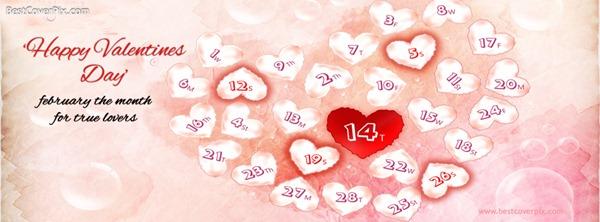 valentine facebook cover 3