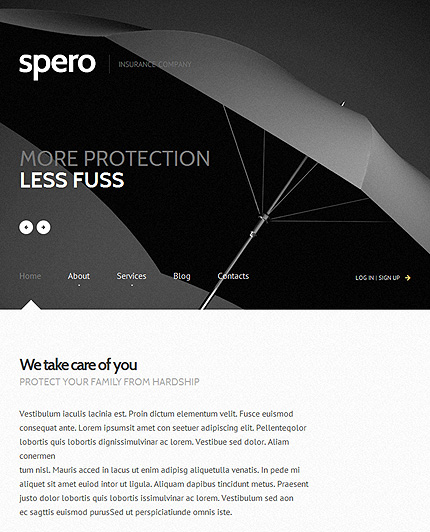 Insurance-Responsive-WordPress-Theme