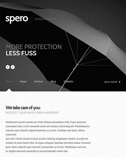 Insurance-Responsive-WordPress-Theme