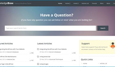 WordPress-Wiki-Theme