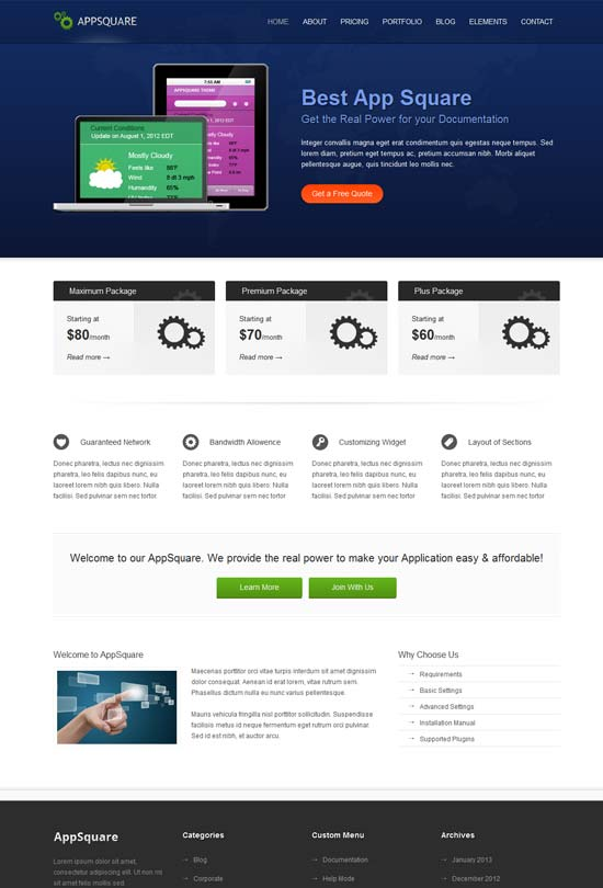 AppSquare-Software-and-Hosting-WordPress-Theme