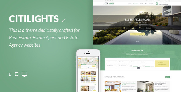 CitiLights-Real-Estate-WordPress-Theme