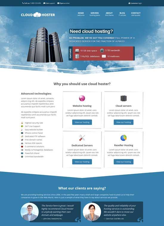 Cloud-Hoster-Responsive-Modern-Hosting-Theme