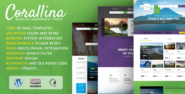Corallina-Booking-WordPress-Theme