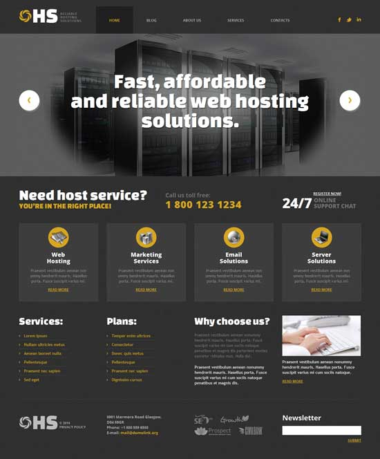 HS-Hosting-WordPress-Theme