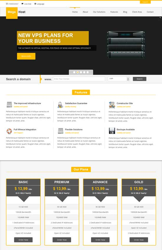 MegaHost-Responsive-Hosting---Wordpress-Template