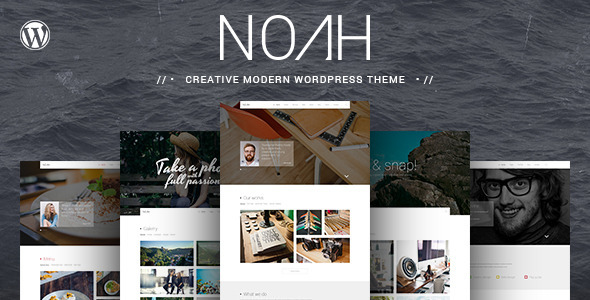 NOAH-Creative-Modern-Wordpress-Theme