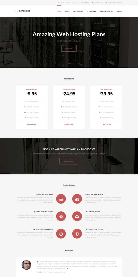 RealHost-Responsive-WordPress-Hosting-Theme